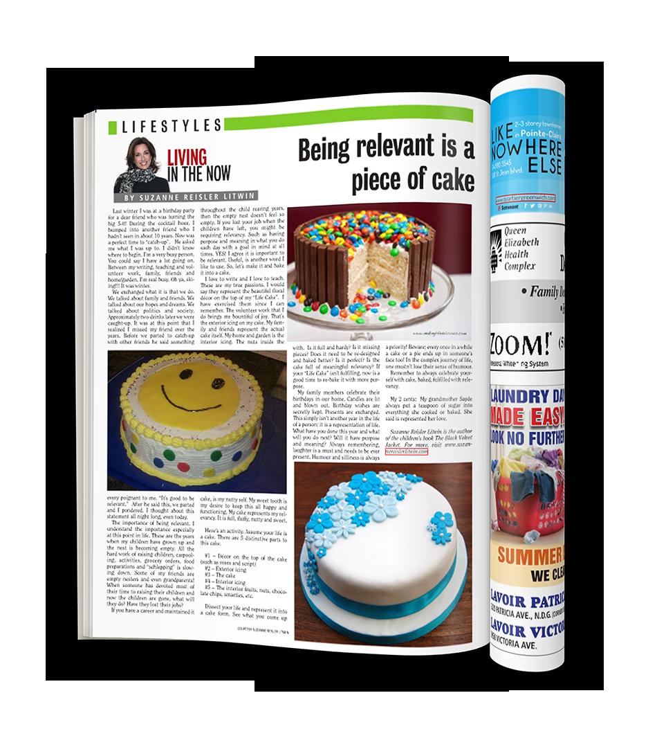 Suzanne's article on The Suburban Magazine June 12, 2015